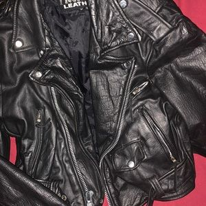 Frontier Leathers Jackets & Coats - Vintage Frontier Leathers, Moto Jacket 🤘🏻